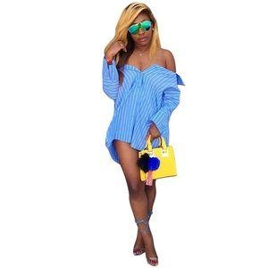 Dresses & Skirts - Cardigan shirt dress